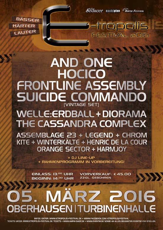 E-Tropolis Festival Poster